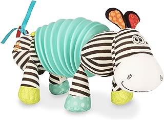 B. toys – Musical Accordion Zebra Plush – Sensory Toy – Non-Toxic