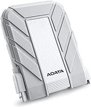 ADATA 1TB Durable HD710A Pro USB3.1 Portable Hard Drive for Apple Mac (White)