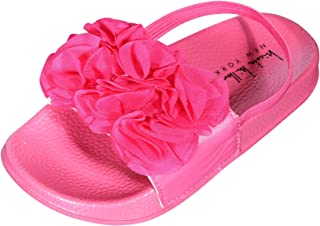 e91c14b07 Nicole Miller New York Toddler Girls Flower Slide Sandal (Toddler)