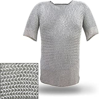 Battle Ready Chain Mail Body Armor Haubergeon X-Large