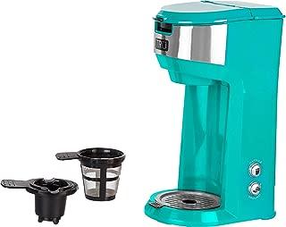 Tru CM-1177TQ Single Serve Coffee Maker, Turquoise