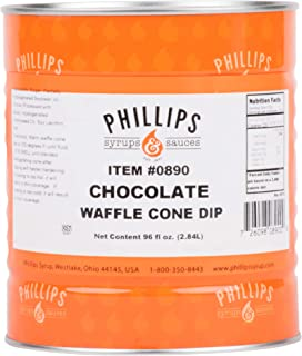 Chocolate Waffle Cone Dip - #10 Can By Tabletop King