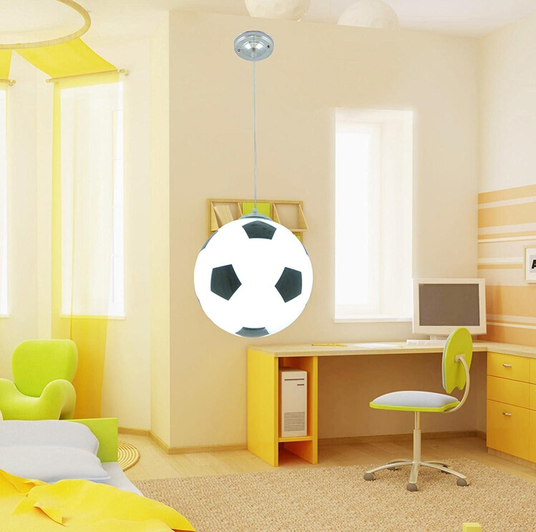 AMZH Kinderzimmer Fuball Kronleuchter Moderne kreative Persnlichkeit Dekoration Schlafzimmer Kronleuchter Fuball Junge Mdchen Kinder Kronleuchter