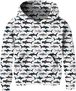 cute shark hoodie