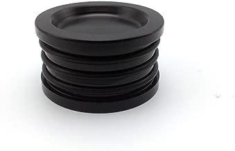 JSD Camshaft Seal Cap Plug Billet Triple O ring Aluminum Black Front for Acura Honda D15 D16 D17 B16 B17 B18 B20 H22 H23 F20 F22 K20 K24D B H F Series
