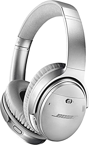 Bose QuietComfort 35 II Noise Cancelling Bluetooth Headphones— Wireless, Over Ear Headphones with Built in Microphone...