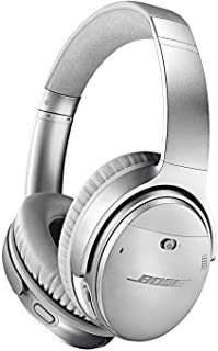 Bose QuietComfort 35 (Series II) Wireless Bluetooth Headphones, Noise Cancelling, Silver