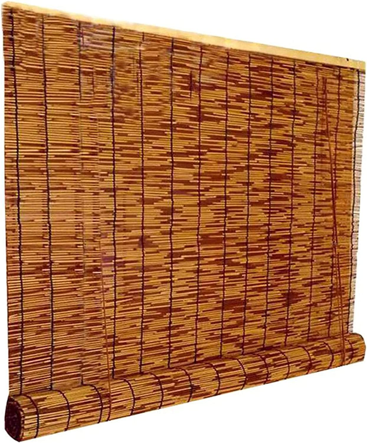TBCHE Woven Blinds Reed Sun Shade Regular dealer Up St Pastoral Patio for Sale SALE% OFF Roll