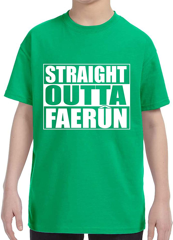 FerociTees Straight Outta Faerun Youth T-Shirt
