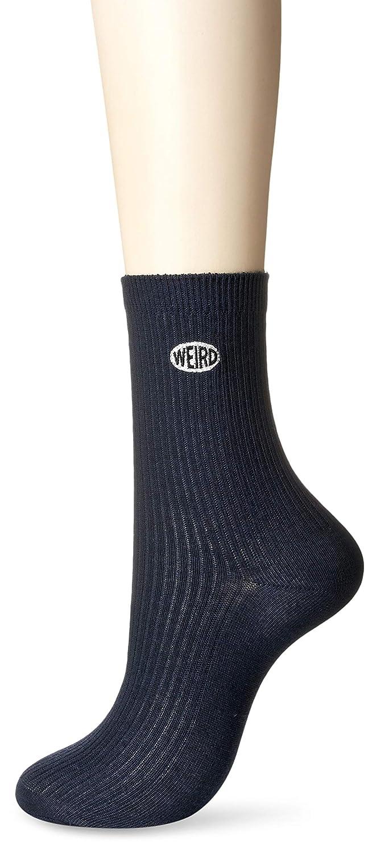 (ウィゴー) WEGO ワンポイントスクールソックス18cm