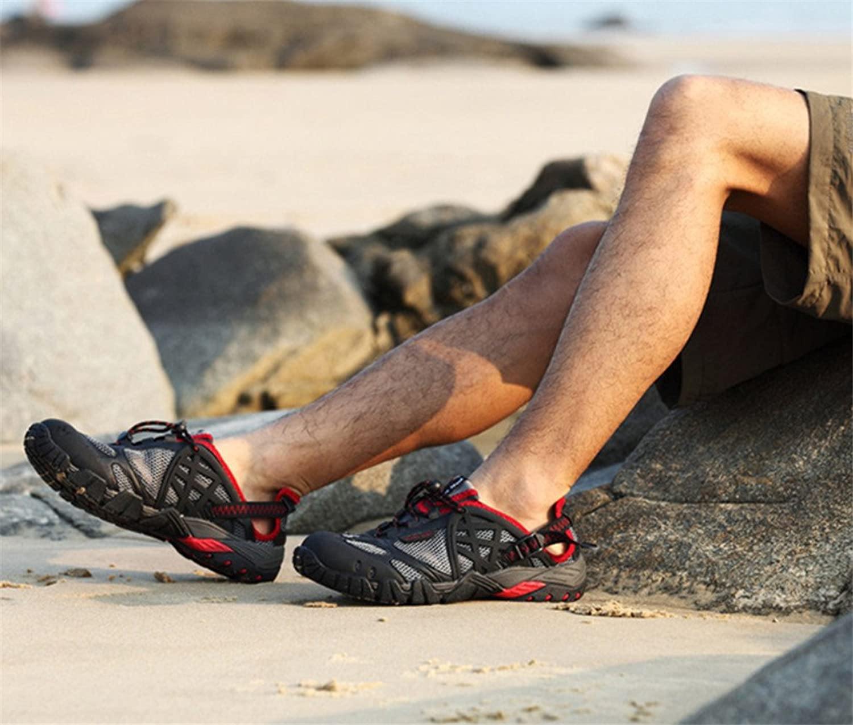 Hiking skor, Män Vatten Skor Klättrande Andningsbara Hiking skor, Långvariga, Långvariga, Långvariga, Lättvikta sommar skor,  den mest fashionabla