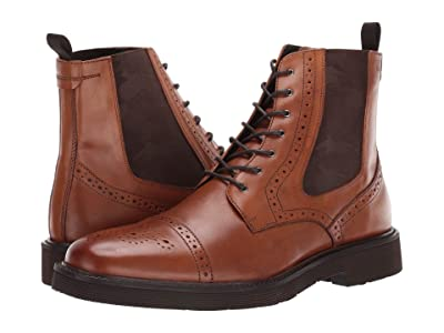 J&M EST. 1850 Kinley Cap-Toe Boot (Tan) Men