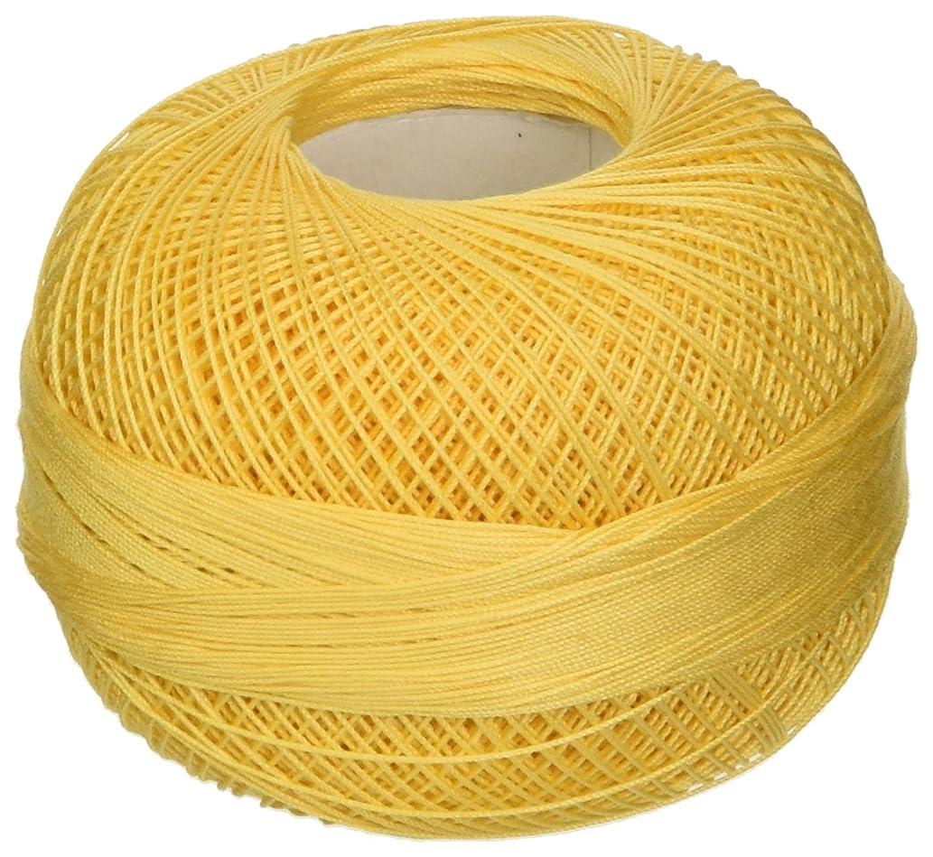 Handy Hands Lizbeth Premium Cotton Thread, Medium, Golden Yellow