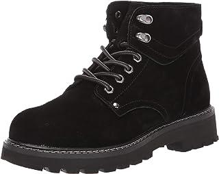 Propet Women's Dakota Chukka Boot Ankle, Black, 6.5 Wide