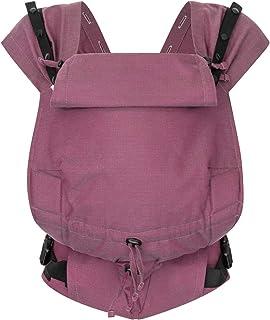 Hoppediz Primeo Full-Buckle Babytrage  ab Geburt  Bauchtrage  Rückentrage  verstellbarer Steg  100% Bio-Baumwolle | Design Mallorca