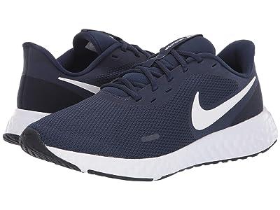 Nike Revolution 5 (Midnight Navy/White/Dark Obsidian) Men