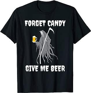 Halloween Grim Reaper Beer Designs T-Shirt