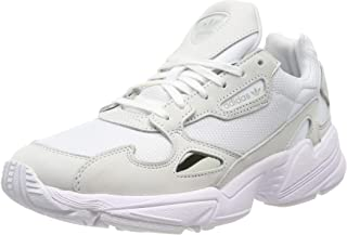 Women's Falcon Sneakers Leather White in Size US 7.5