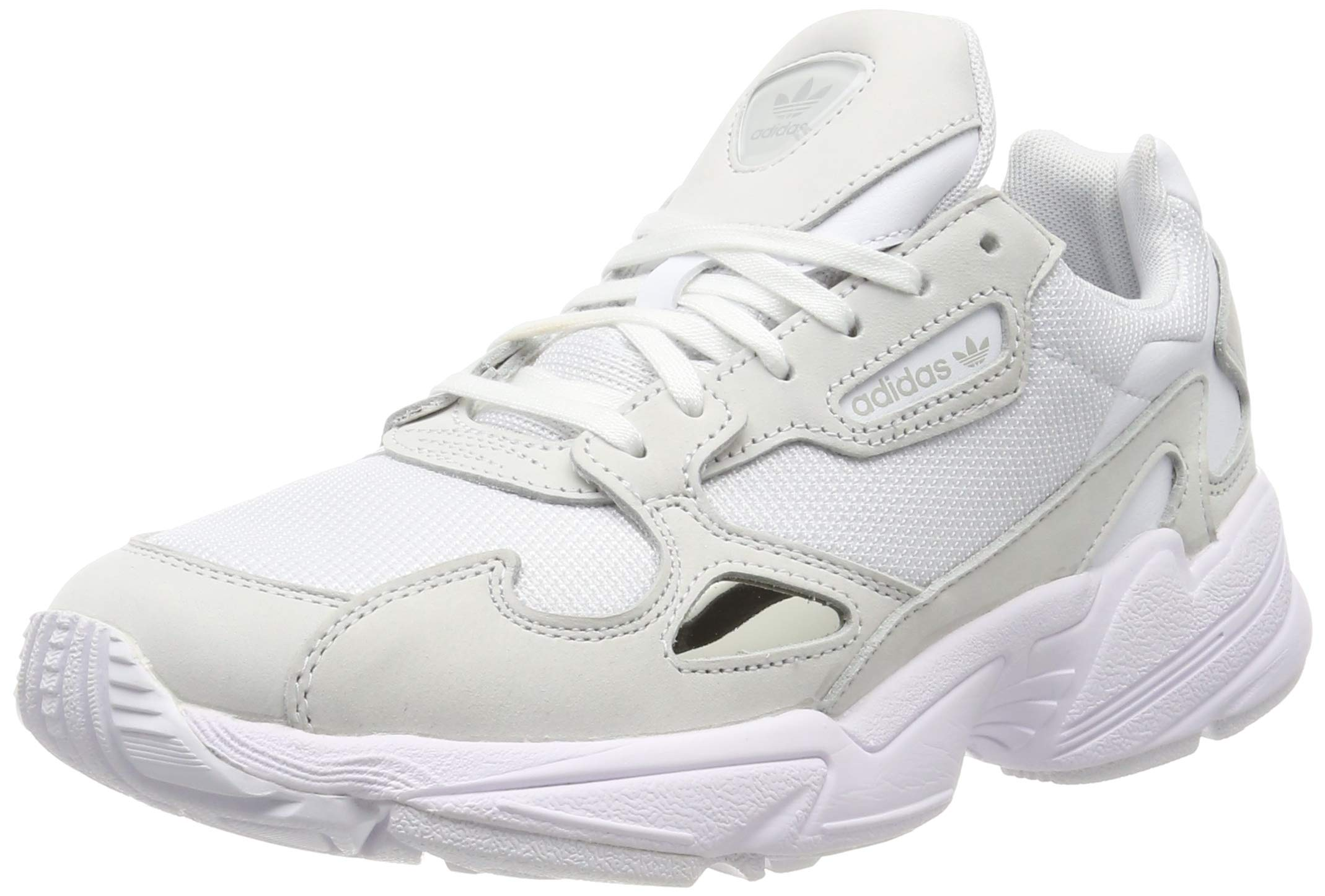 entrenador almohadilla gasolina  adidas Originals Women's Falcon Sneakers Leather White in Size US 7.5 - Buy  Online in Dominica.   [missing {{category}} value] Products in Dominica -  See Prices, Reviews and Free Delivery over EX$200   Desertcart