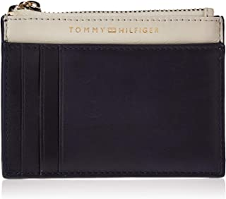 Tommy Hilfiger Soft Turnlock Card Case Holder, Blue, AW0AW07719