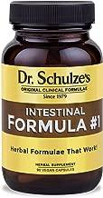 Dr. Schulze's Colon Bowel Cleanse; Intestinal Formula #1 - All Natural - 90 Count Capsules