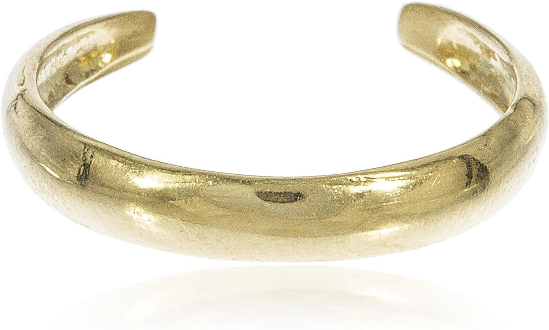 JOTW 10k Yellow Gold Simple Toe Ring (GO-694)