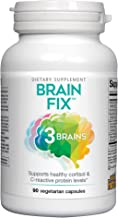 3 Brains by Natural Factors, Brain Fix, Protects The Brain from Cellular Damage, Daily Dietary Supplement, Vegetarian, 90 Capsules (90 Servings)