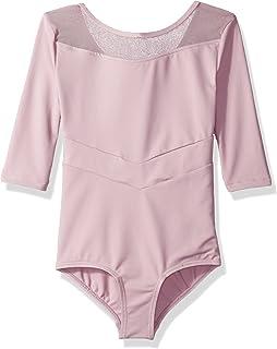 Danskin 女童纽约市芭蕾七分袖紧身连衣裤