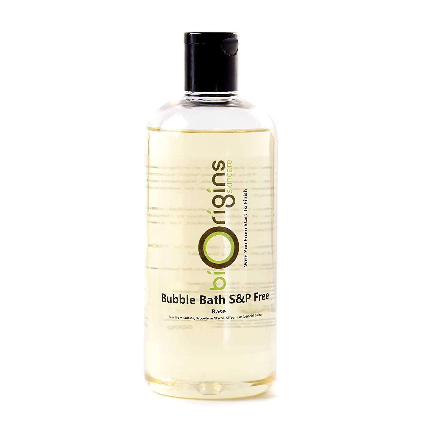 彼自身さびた貞Bubble Bath Base - SLS & Paraben Free - 500g