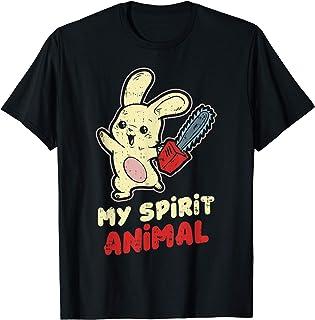 My Spirit Animal Bloody Bunny Shirt Dark Humor Gift T-Shirt