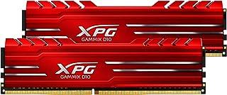XPG Gammix D10 DDR4 2666MHz (PC4 21300) 16G (2 X 8GB) Memory Module Kit Red (AX4U266638G16-DRG)