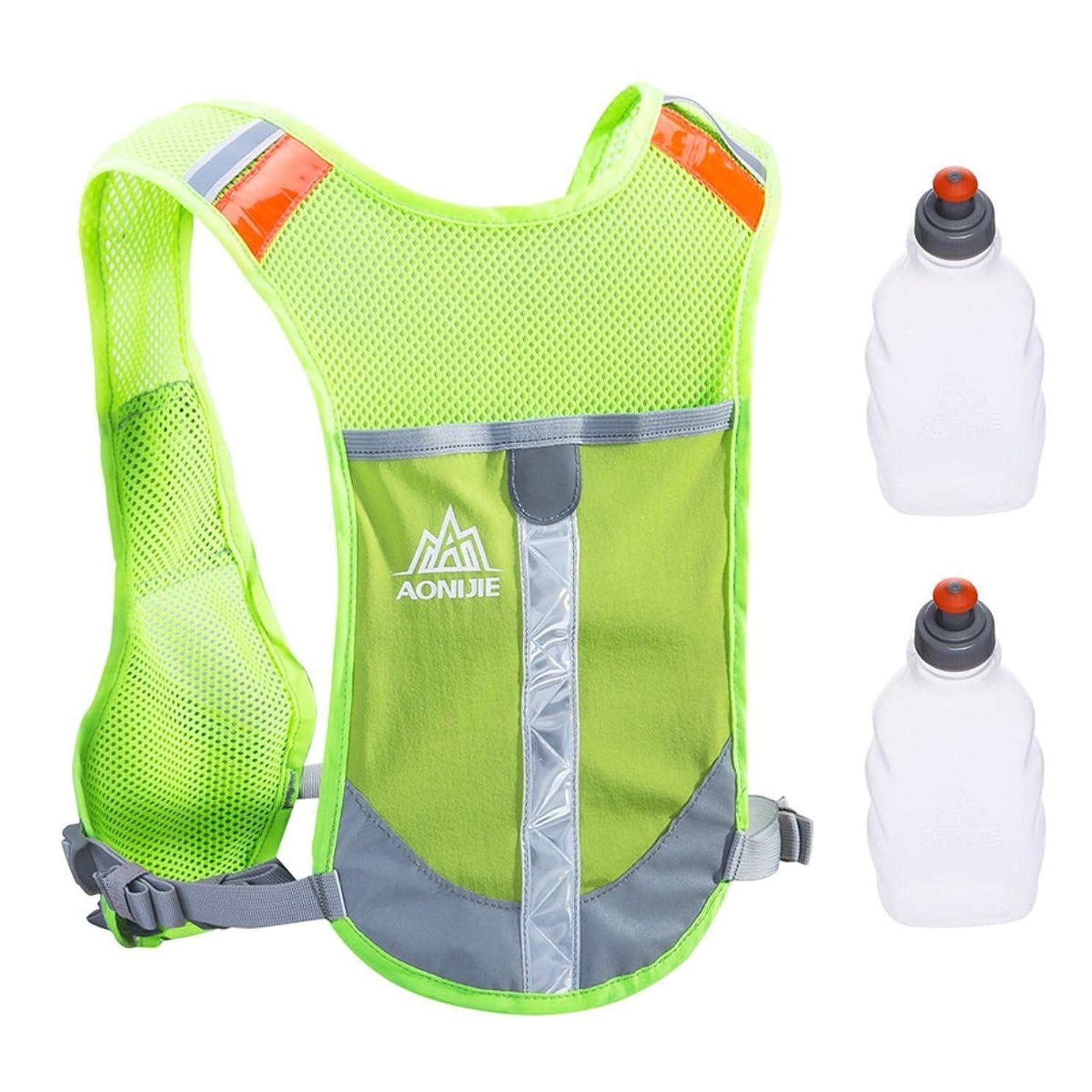 スナップ因子ドループTRIWONDER 反射ベスト 軽量 安全 サイクリングバッグ 自転車バッグパック ランニング マラソン リューク