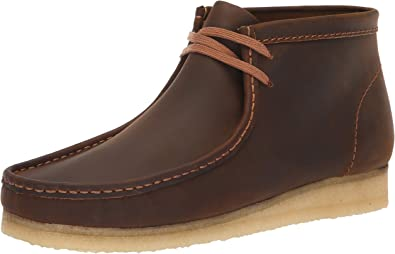 CLARKS Men's Wallabee Boot Fashion, Beeswax, 80 M US