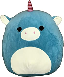 Kellytoy Squishmallow 8 Inch Ace the Turquoise Unicorn Super Soft Plush Toy Pillow Pet
