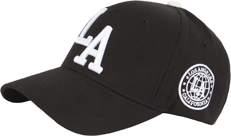RaOn B272 New LA Embroidery Los Angeles Patch Major Ball Cap Baseball Hat Truckers