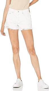 The Drop Sasha Short Vaquero Vintage con Bajos Cortados de Talle Medio Denim Shorts para Mujer