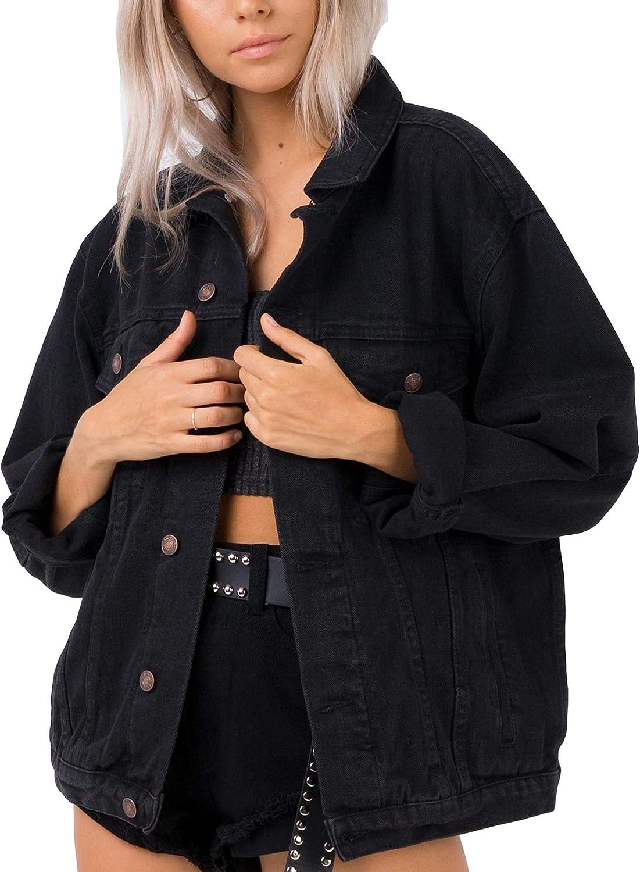 Jean Jacket Women Oversized Denim Jacket