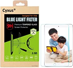 Cyxus Filter Harmful Blue Light [Anti Eye Strain] [Sleep Better] [Protect Children's Eyes] 9H Hardness Tempered Glass Screen Protector Compatible for Apple iPad mini 1/2/3,, Non-toxic, Shock-proof, Great for Kids