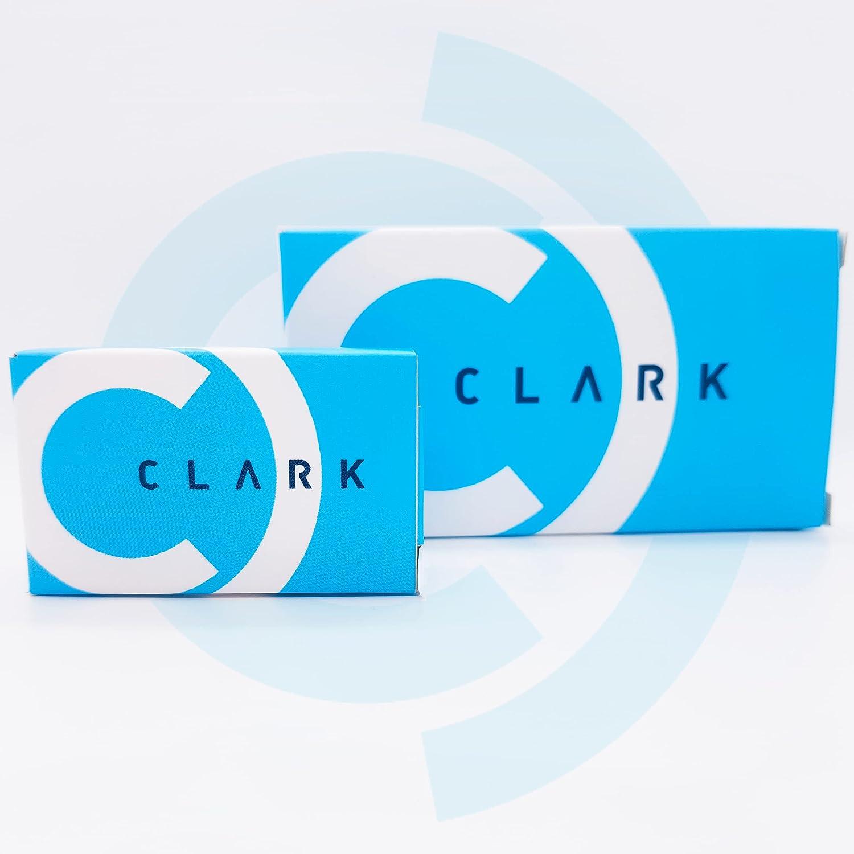 Clarklens - Lentillas Mensuales Graduadas -3.25 Hidrogel con Protección UV, Pack 3 Meses. Diámetro 14,3mm. Curva Base 8,6mm.