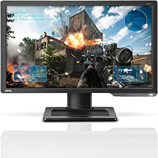 BenQ Zowie XL2411P 24 inch 144Hz Esports Gaming Monitor, 1080p, 1ms Response Time, Black Equalizer and Height Adjustable S...