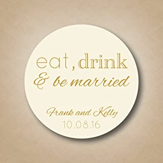 eat drink and be married invitations