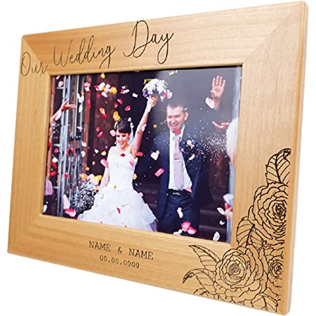Wedding Gift Couples Custom Frame --PFCHALK-BLK-KHL Frame Collage Personalized Picture Frame Anniversary Gift Bridal Shower Gift