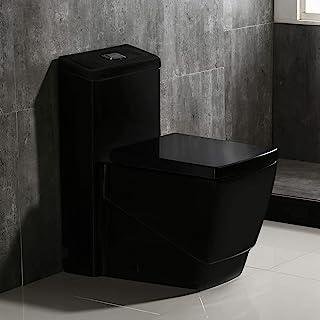 Amazon Com Black One Piece Toilets Toilets Tools Home