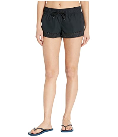 Roxy 2 Under the Moon Boardshorts (Anthracite) Women