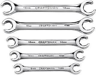 Craftsman Metric Flare Nut Wrench Set, 5-Piece, 9-42013