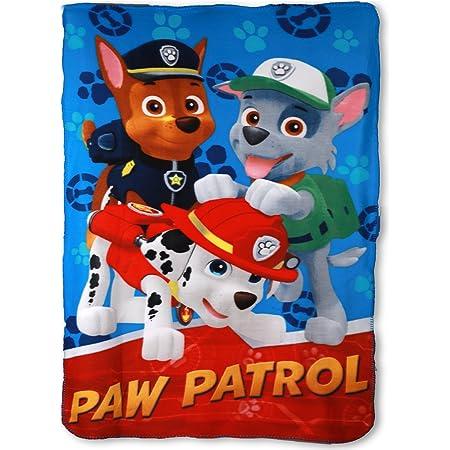 120 x 150 cm Paw Patrol Coussin carr/é Multicolore