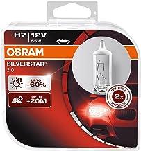 Osram Silverstar 2.0 H7, halogeen koplamp, 64210SV2-HCB, plus 60% meer licht, duobox