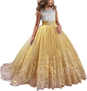 long puffy pageant dresses