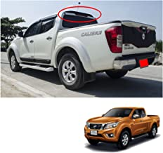 Powerwarauto Rear Roof Spoiler Matte Black Trim 1 Pc Trim For Nissan Np300 Navara D23 2Dr 4Dr 2015 2016 2017 2018