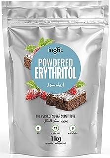 ingfit 100% Natural Erythritol - Powdered, ZERO Calorie, Keto, Sugar Replacement - 1 Kg (2.2 lb)